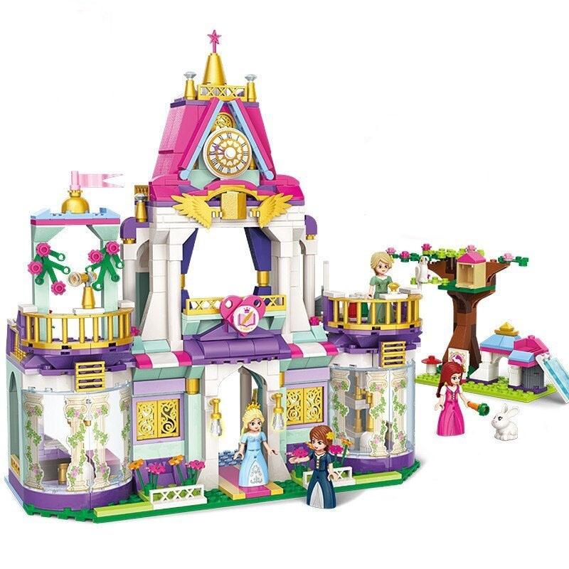 Конструктор с фигурками - Замок принцессы, 628 деталей по цене 2 155