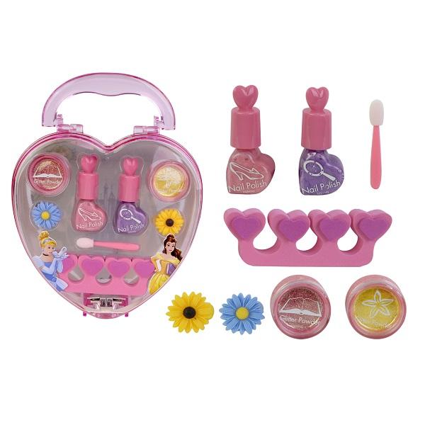 Игровой набор детской декоративной косметики для ногтей PrincessЮная модница, салон красоты<br>Игровой набор детской декоративной косметики для ногтей Princess<br>