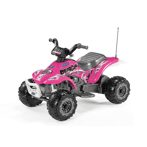 Электромотоцикл «Corral Bearcat Pink» от Toyway