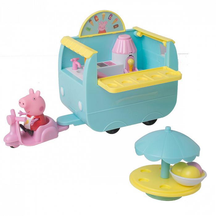 Купить Игровой набор - Палатка с мороженым из серии Peppa Pig, Росмэн