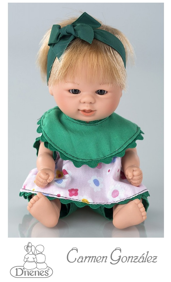 Кукла Бебетин, 21 см в костюме Carmen Gonzalez
