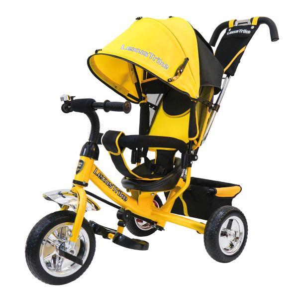Велосипед 3-х колесный - Lexus Trike, желтый, с колесами EVA диаметром 25 и 20 смВелосипеды детские<br>Велосипед 3-х колесный - Lexus Trike, желтый, с колесами EVA диаметром 25 и 20 см<br>