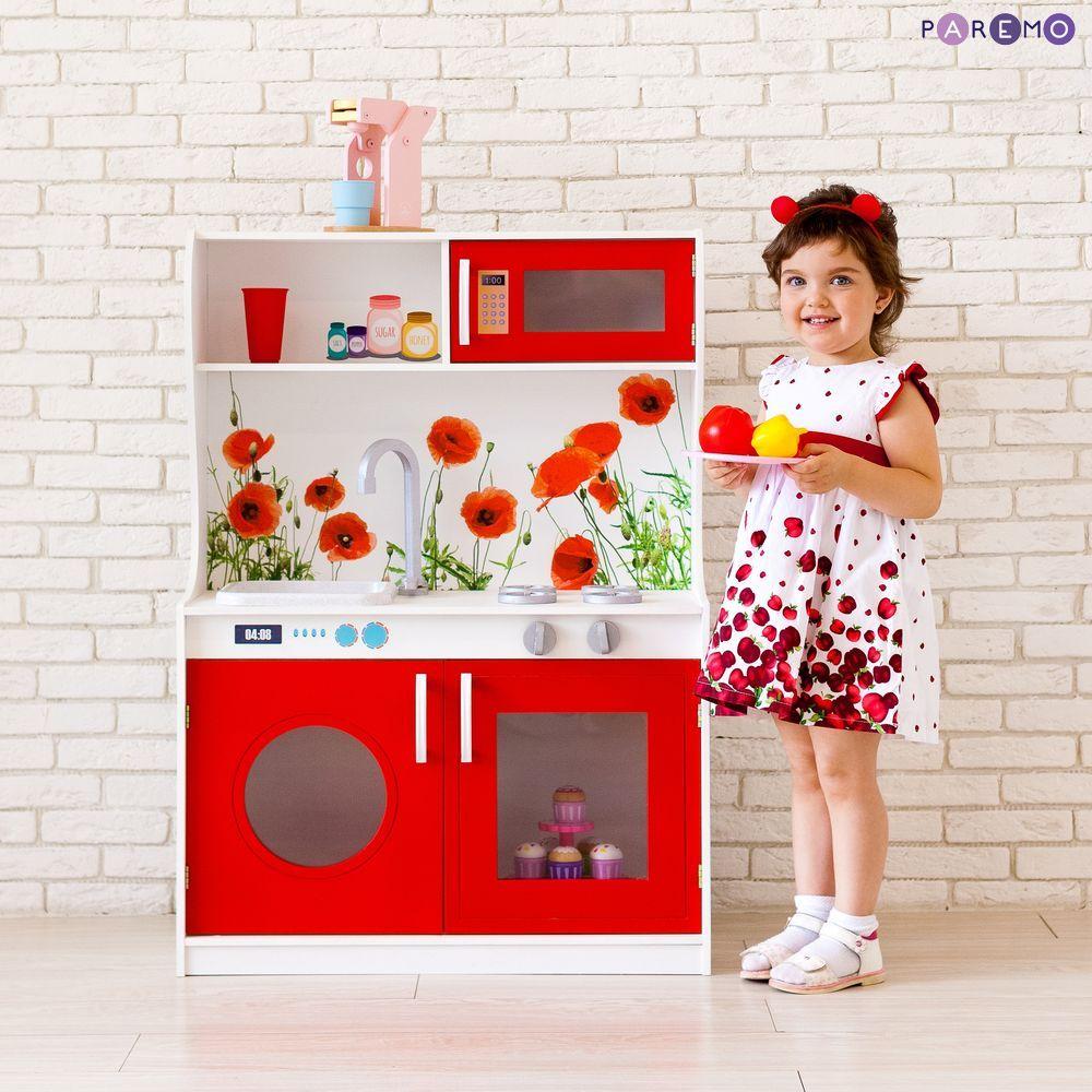 Купить Игрушечная мини-кухня - Фиори Россо, Paremo