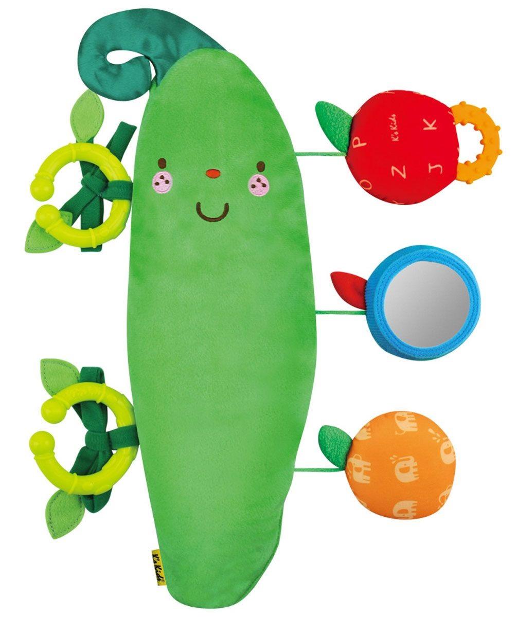 Мягкая игрушка «Заботливый Горошек»Развивающие игрушки K-Magic от KS Kids<br>Мягкая игрушка «Заботливый Горошек»<br>