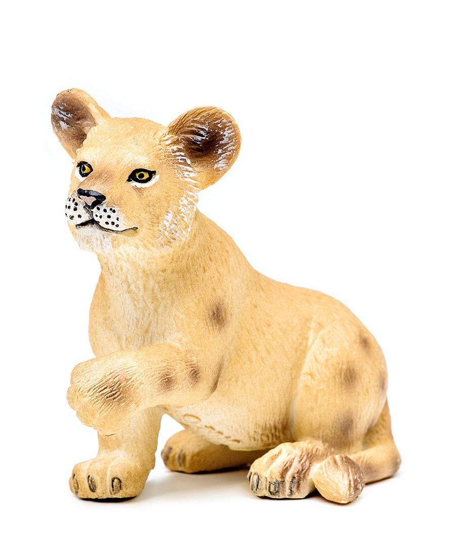 Львенок сидящий, 5 смДикая природа (Wildlife)<br>Львенок сидящий, 5 см<br>