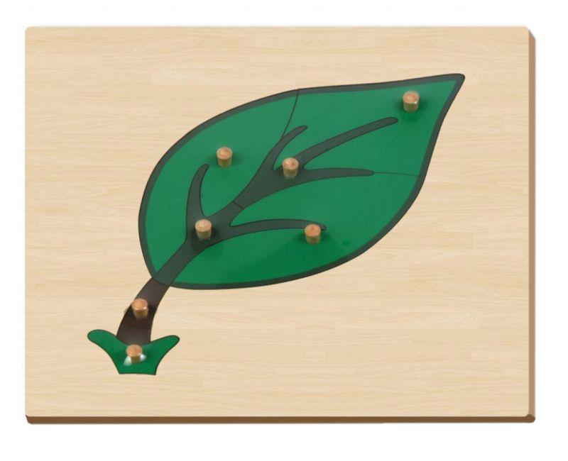 Купить Развивающая игрушка пазл – Лист, Мир деревянных игрушек