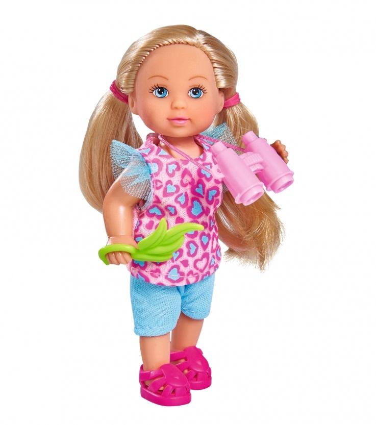 Набор - Сафари с куклой Еви, 12 смКуклы Еви<br>Набор - Сафари с куклой Еви, 12 см<br>