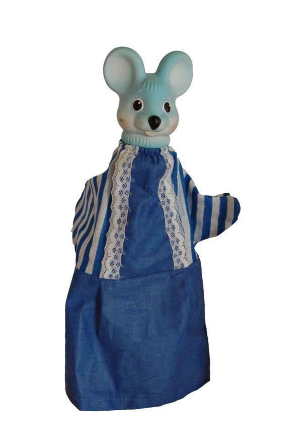 Кукла-перчатка – Мышка, 26 смДетский кукольный театр <br>Кукла-перчатка – Мышка, 26 см<br>