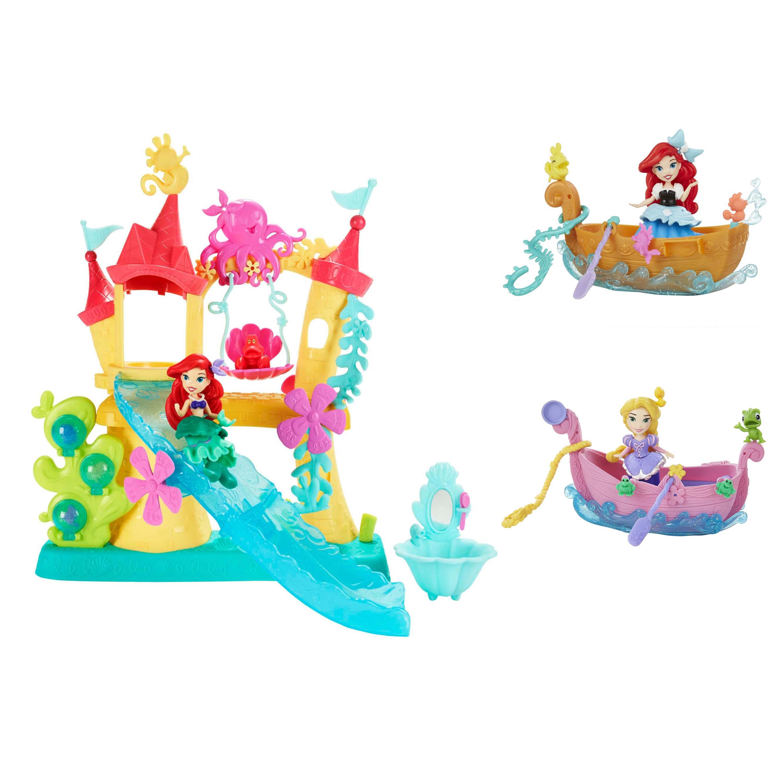 Набор Hasbro Disney Princess - Замок Ариэль для игры с водой + Принцесса и лодкаАриэль<br>Набор Hasbro Disney Princess - Замок Ариэль для игры с водой + Принцесса и лодка<br>