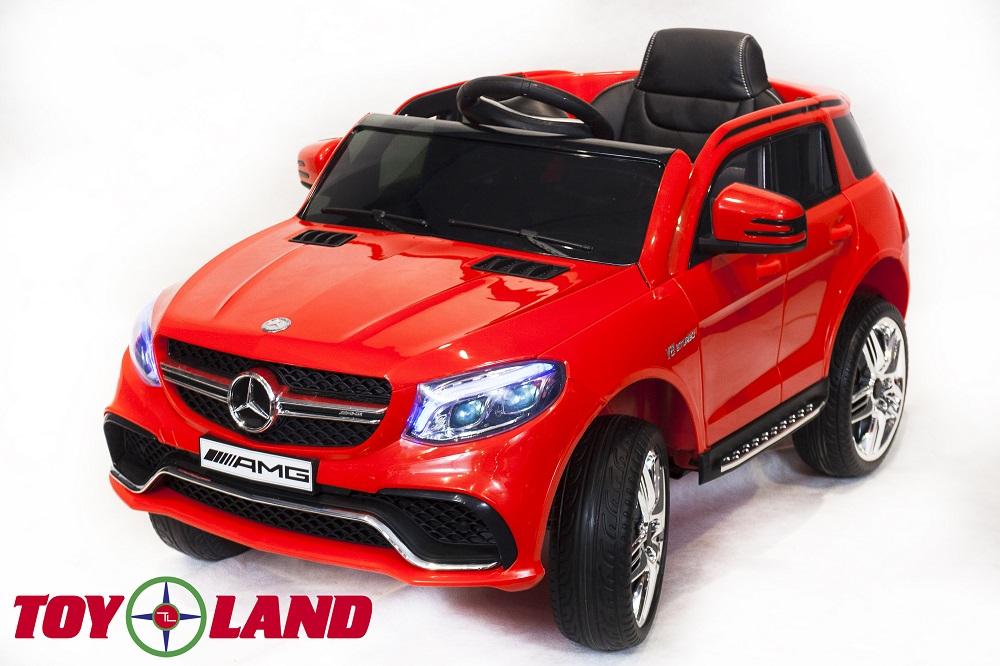 Купить Электромобиль ToyLand Mercedes-Benz GLE63S AMG, красный