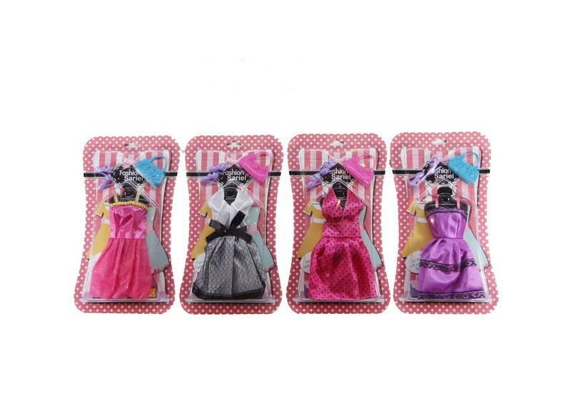 Купить Набор одежды и аксессуаров для куклы высотой 29 см, платье, туфли, сумочка, Shantou