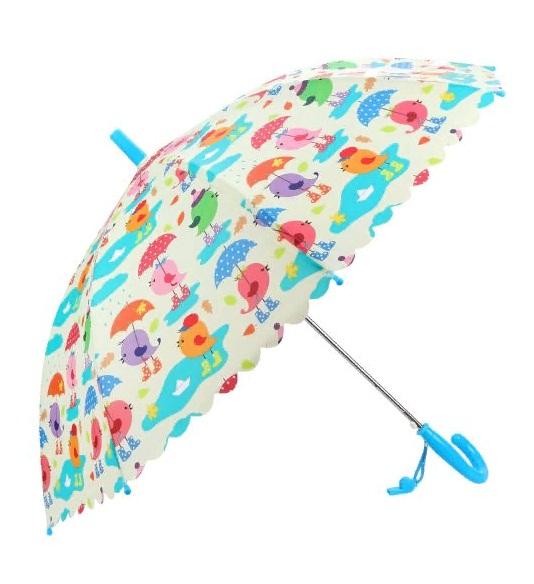 Купить Зонт детский - Птички, 48 см, полуавтомат, Mary Poppins