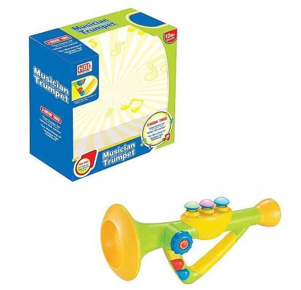 Труба для малышей со звуковыми и световыми эффектамиДетские развивающие игрушки<br>Труба для малышей со звуковыми и световыми эффектами<br>