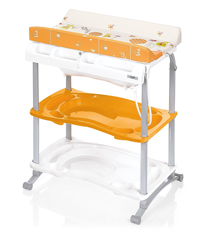 Стол для пеленания Babidoo, оранжевыйстолы для пеленания<br>Стол для пеленания Babidoo, оранжевый<br>