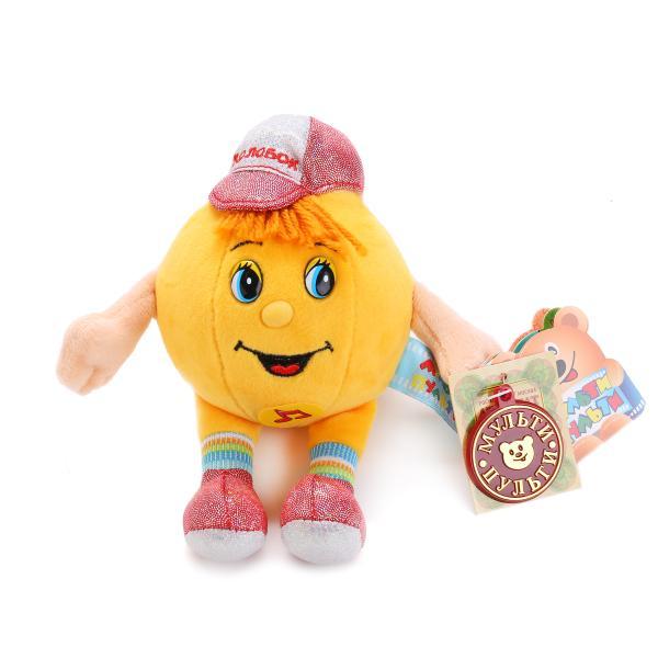 Озвученная мягкая игрушка - Колобок, 10 смГоворящие игрушки<br>Озвученная мягкая игрушка - Колобок, 10 см<br>