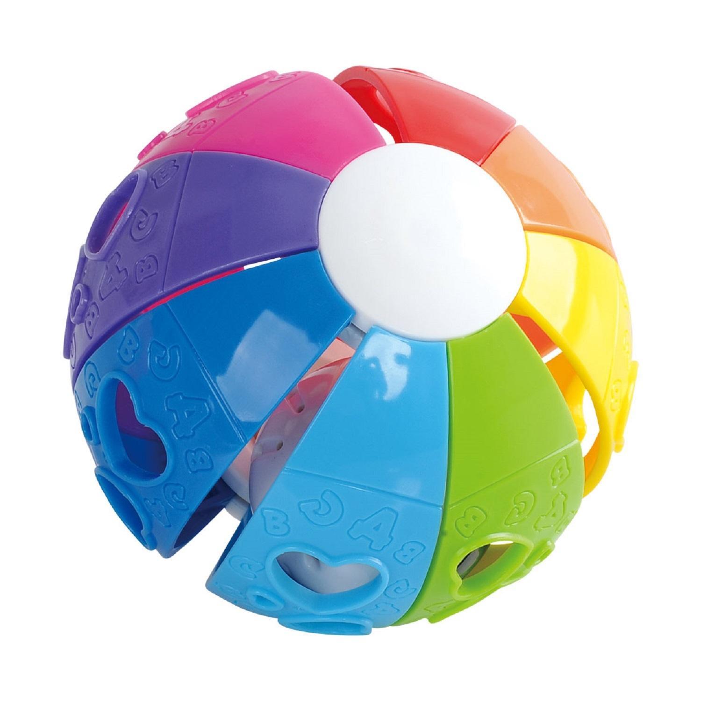Развивающая игрушка - Мяч Радуга фото