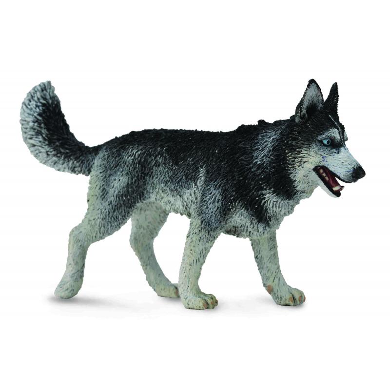 Фигурка животного - Сибирская лайка, размер LСобаки и щенки (Dogs &amp; Puppies)<br>Фигурка животного - Сибирская лайка, размер L<br>