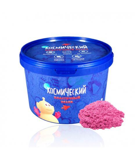 Песок космический – Розовый, 2 кгКинетический песок<br>Песок космический – Розовый, 2 кг<br>