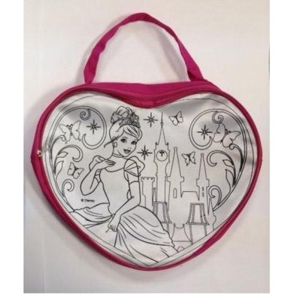 Купить Набор для творчества – сумочка для росписи Принцессы Дисней, Играем вместе