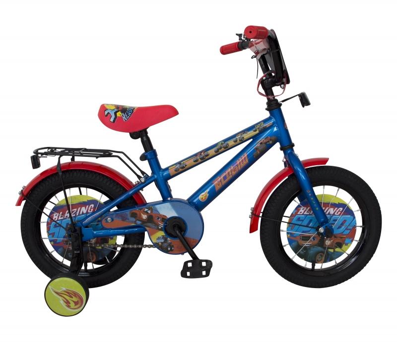 Купить Детский велосипед Navigator из серии Вспыш, колеса 14 , стальная рама, стальные обода, ножной тормоз