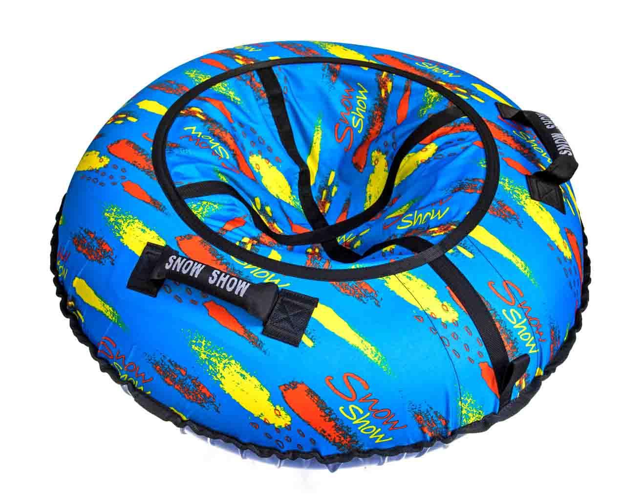 Санки надувные – Тюбинг RT Краски на голубом, 105 см фото