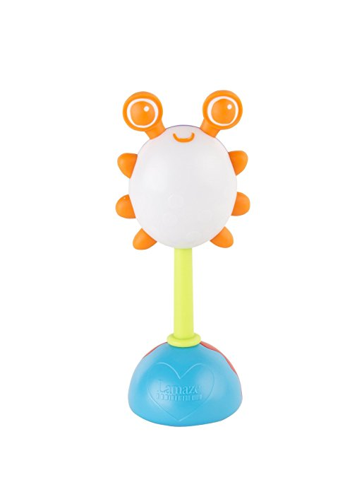 Погремушка с радужной подсветкой - ЖучокДетские погремушки и подвесные игрушки на кроватку<br>Погремушка с радужной подсветкой - Жучок<br>