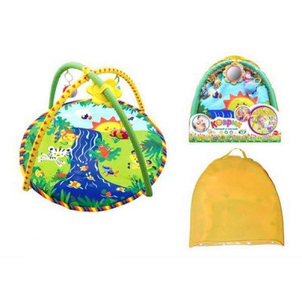 Детский игровой коврик с игрушкамиДетские развивающие коврики для новорожденных<br>Детский игровой коврик с игрушками<br>