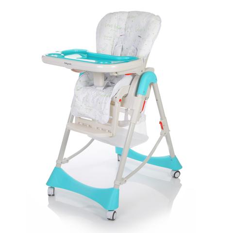 Детский стульчик для кормления Baby Care – Love Bear, синийСтульчики для кормления<br>Детский стульчик для кормления Baby Care – Love Bear, синий<br>