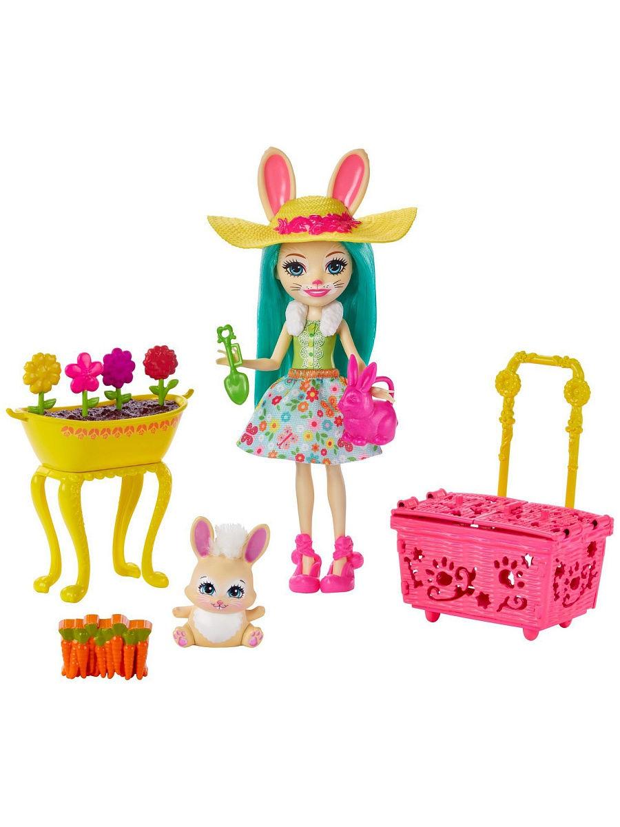 Игровой набор Enchantimals - Бри Кроля в саду Mattel