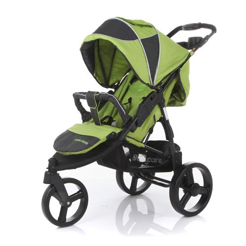 Коляска прогулочная Jogger Cruze, greenДетские коляски Capella Jetem, Baby Care<br>Коляска прогулочная Jogger Cruze, green<br>