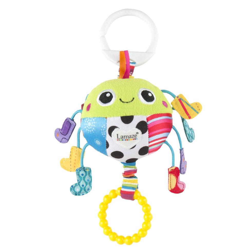 Игрушка-подвеска Паучок в носочкахДетские погремушки и подвесные игрушки на кроватку<br>Игрушка-подвеска Паучок в носочках<br>