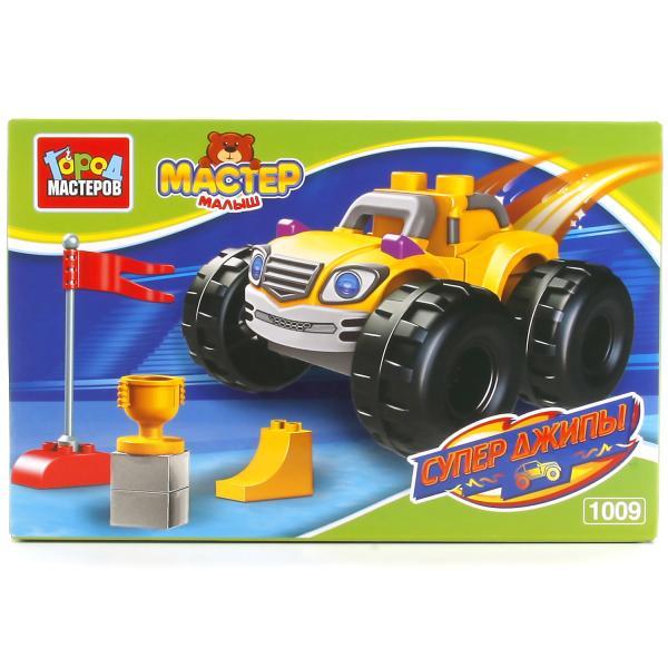 Конструктор Большие кубики - Супер джипыГород мастеров<br>Конструктор Большие кубики - Супер джипы<br>
