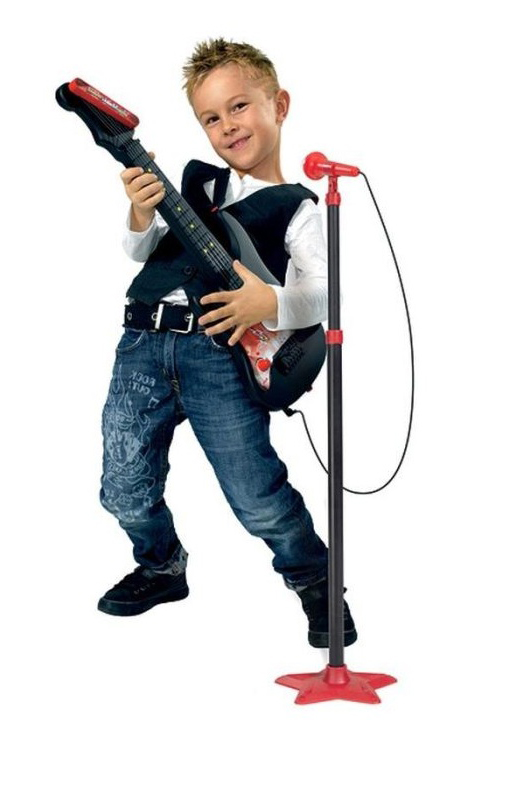 Гитара с микрофономМузыкальные наборы<br>Гитара с микрофоном<br>