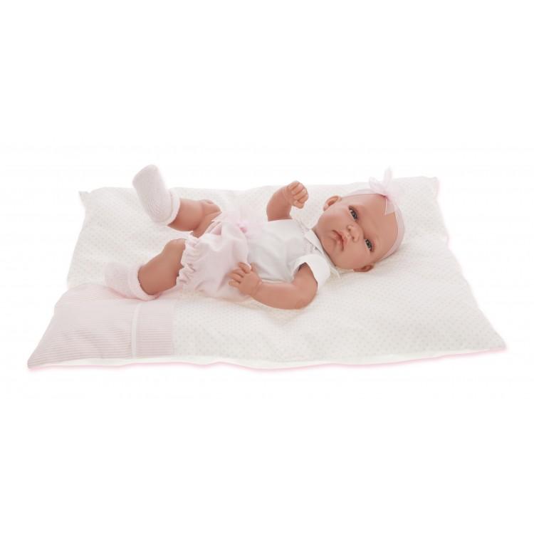 Купить Кукла-младенец Марсела девочка в розовом, 33 см., Antonio Juans Munecas