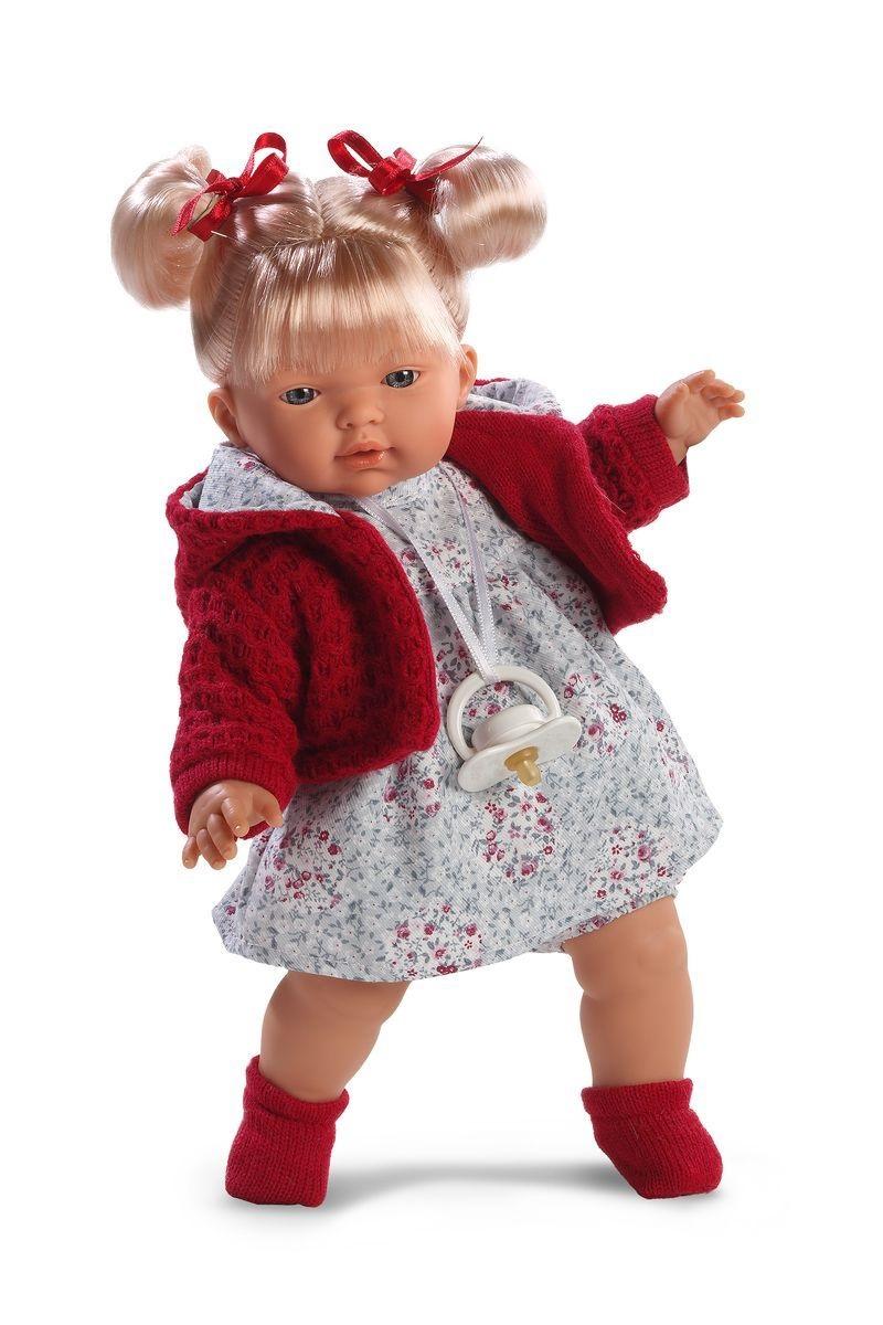 Кукла Изабела 33 см., со звукомИспанские куклы Llorens Juan, S.L.<br>Кукла Изабела 33 см., со звуком<br>