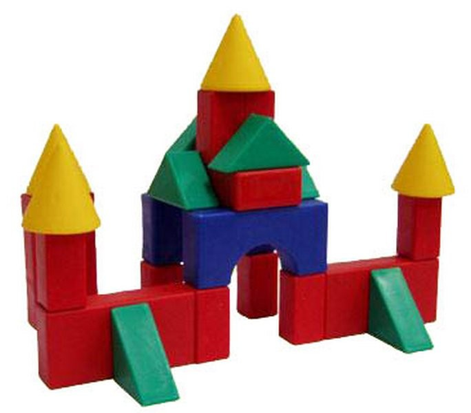 Набор строительный №3 – Классический - МалыйКонструкторы других производителей<br>Набор строительный №3 – Классический - Малый<br>