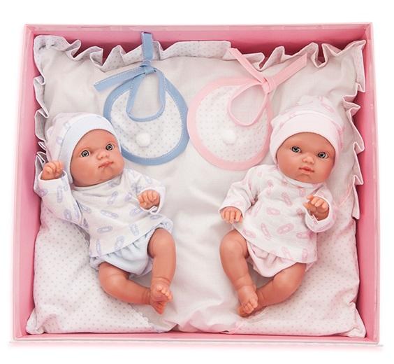 Куклы-двойняшки Пепито и Лолита, 21 смКуклы Антонио Хуан (Antonio Juan Munecas)<br>Куклы-двойняшки Пепито и Лолита, 21 см<br>