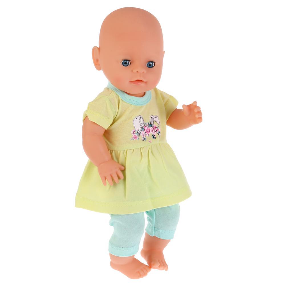 Купить Одежда для кукол 40-42 см - Зайка. Костюм: легинсы и туника, Карапуз