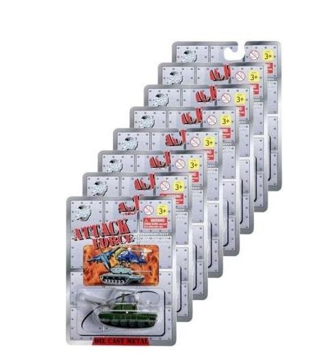Военная техника, 24 вида от Toyway