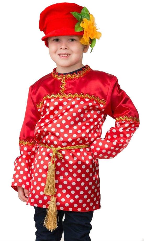 Карнавальный костюм - Кузя, горох, размер 116-60 фото