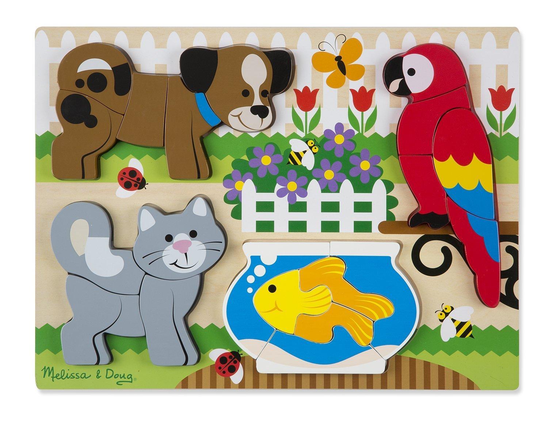 Мои первые пазлы - домашние животныеПазлы для малышей<br>Мои первые пазлы - домашние животные<br>