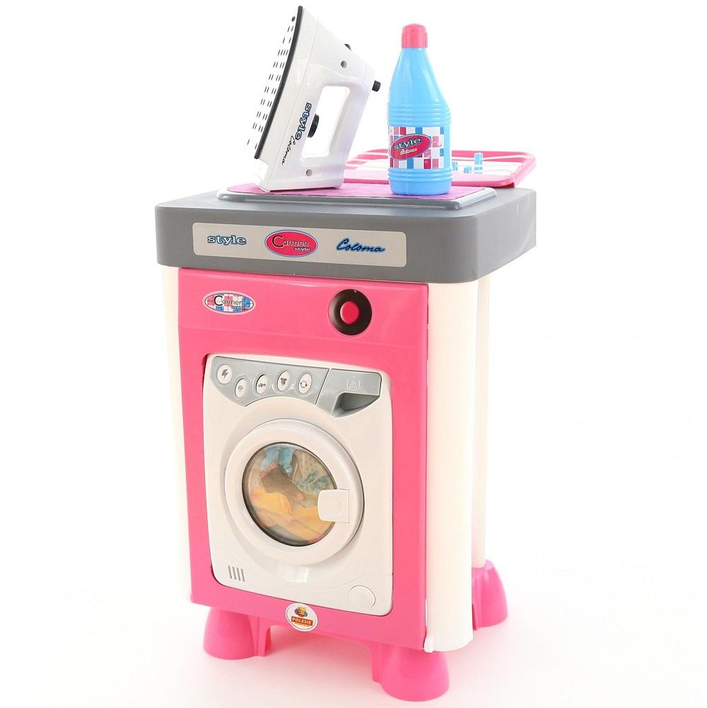 Купить Игровой набор из серии Carmen №2 со стиральной машиной, в пакете, Полесье