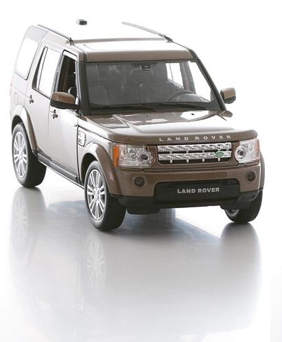 Коллекционная машинка Land Rover Discovery 4, масштаб 1:24Land Rover<br>Коллекционная машинка Land Rover Discovery 4, масштаб 1:24<br>