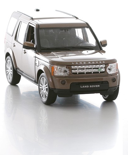Купить Машинка Land Rover Discovery 4, масштаб 1:24, Welly