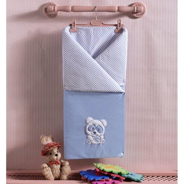 Трансформер одеяло-конверт Panda из 100% хлопка с наполнением из полиэстераДетские покрывала и пледы<br>Трансформер одеяло-конверт Panda из 100% хлопка с наполнением из полиэстера<br>