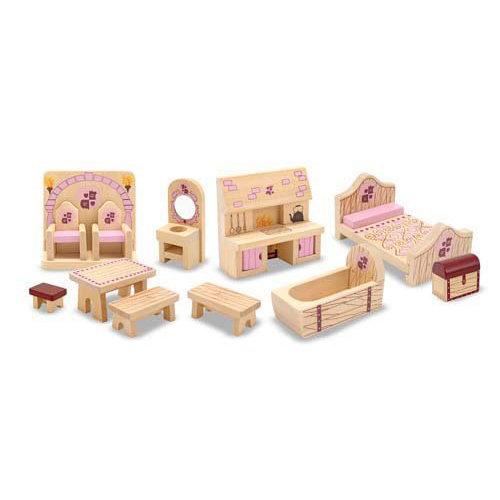 Купить Набор мебели для замка принцессы из серии Создай свой мир, Melissa&Doug