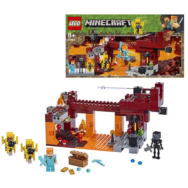 Конструктор Lego Minecraft - Мост ифрита по цене 2 810