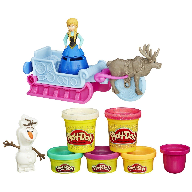Игровой набор «Холодное Сердце» Play-DohПластилин Play-Doh<br>Игровой набор «Холодное Сердце» Play-Doh<br>