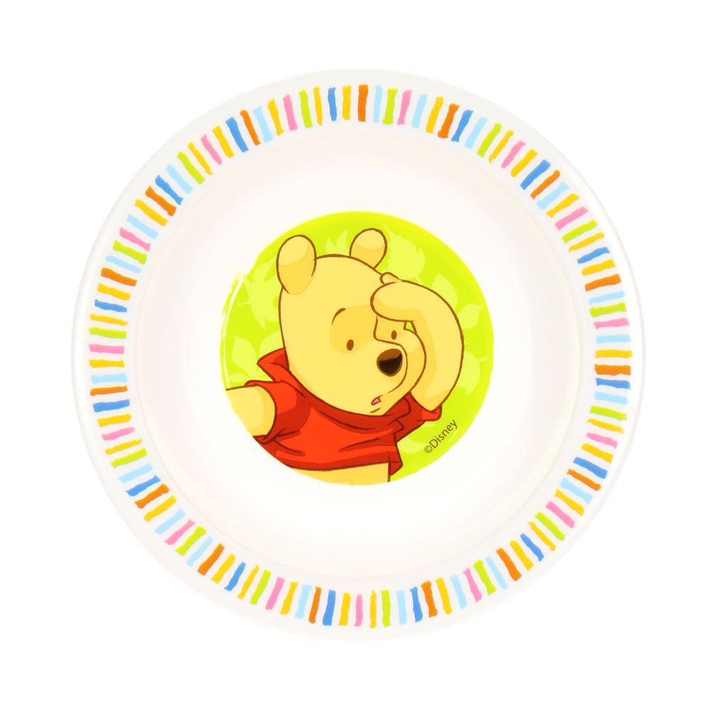Тарелка - Медвежонок ВинниТовары для кормления<br>Тарелка - Медвежонок Винни<br>