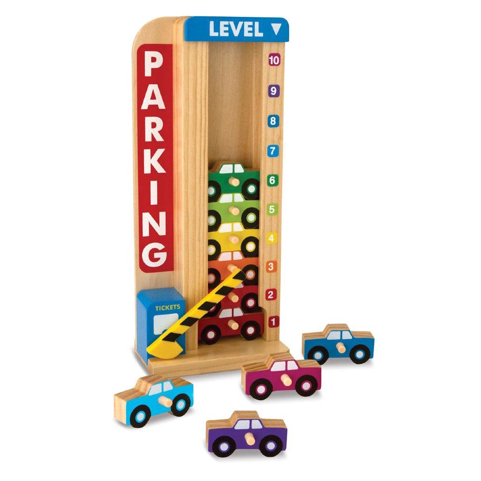 Гараж - Сложи и посчитай из серии Классические игрушкиСтучалки и сортеры<br>Гараж - Сложи и посчитай из серии Классические игрушки<br>